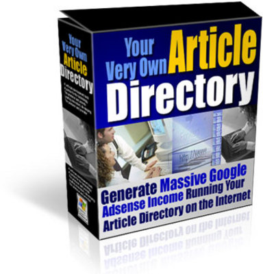 Product picture Your Own Article Directory with Private Label Resell Rights!