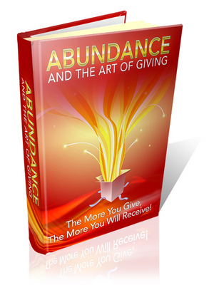 Product picture Abundance And The Art Of Giving MRR!