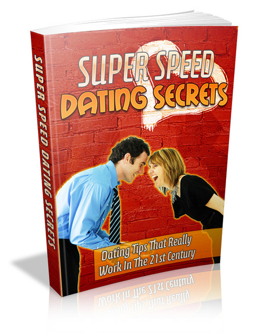 Product picture Super Speed Dating Secrets.